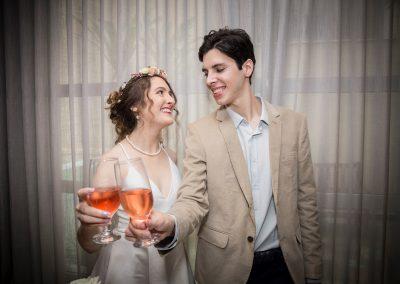 Casamento intimista – Eduardo e Anna Claire
