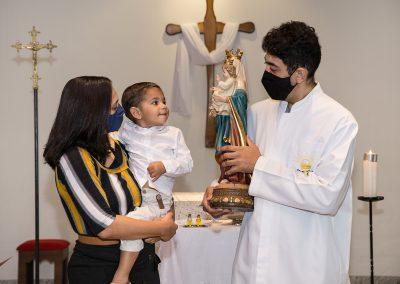 Batizado do Henrique